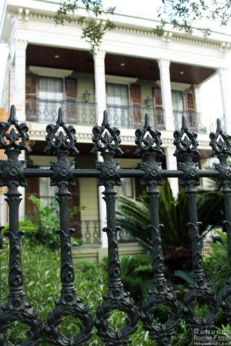 Love that wrought ironwork.