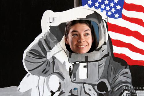 Astronaut Becca!