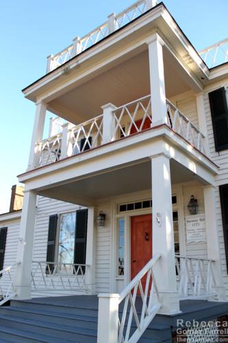 Pretty historic home.