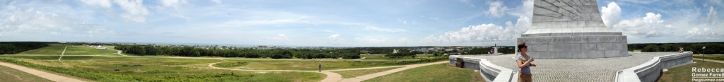 360-view from the Memorial's base. Click twice for the largest image and find Laura and Ellen!