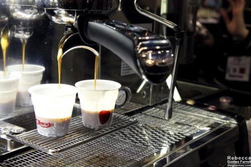 Gratuitous espresso shots.