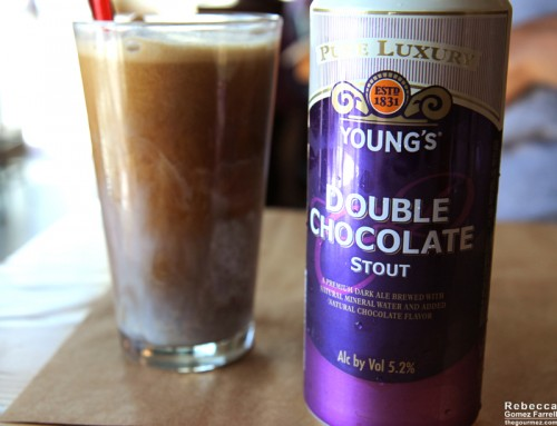 The Young's Chocolate Stout float