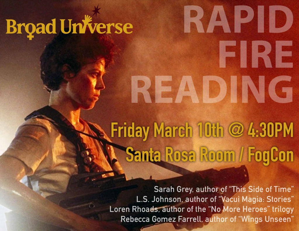 FogCon Rapid Fire Reading Broad Universe
