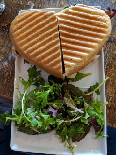 Panini heart hive coffeehouse
