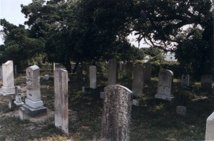 Small cemetery on Ocracoke Island, NC
