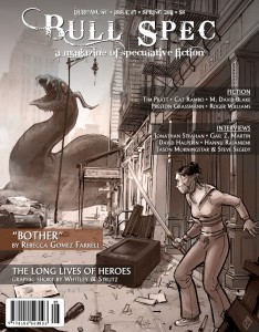 """""""Bother"""" had the cover of Bull Spec #5."""