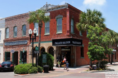 The Palace Saloon, oldest operating bar in Florida.