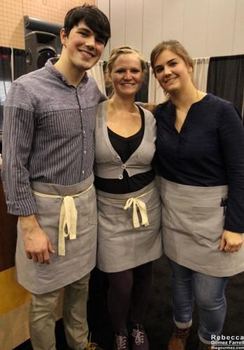 Allison Bouley, Britt Calder, and Joseph Stout.