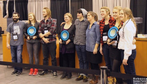 The winners of the America's Best Coffeehouse Competition.