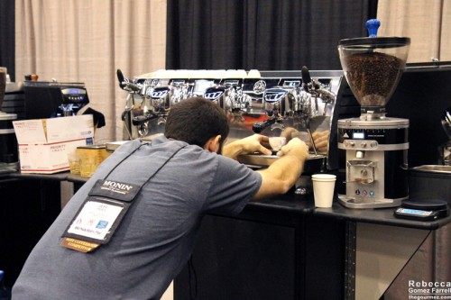 Jeff of Seeds Coffee in Bout #10.